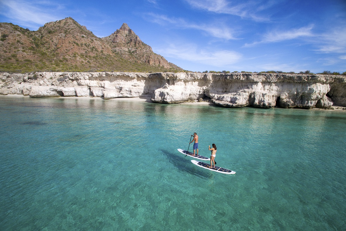 Paddle Board en las playas de Loreto