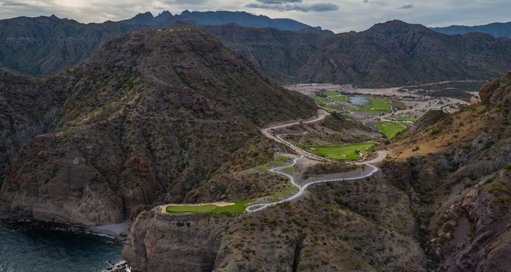 TPC Danzante Bay en Villa del Palmar Loreto Nominado a los World Golf Awards