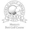 World Golf Awards Winner 2019 Mexico's Best Golf Course