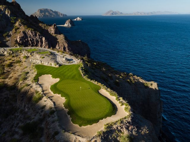 """Likely the most photogenic hole in the world"" - @cigaraficionado... Read the full article at the link in our bio. . . . . . . . #golf #golfcourse #golfer #golftravel #golfswing #golftips #golfcourses #golftrip #golfvacation #golflife #instagolf #golfislife #golfisfun #buddiestrip #golftravel #livingthegreen #playmoregolf #whyilovethisgame #golfholeswithviews #beautifulgolfcourses #golferslife #golfersofinstagram #golfers #golflovers #golftrip #titleist #golfdigest #topgolf"