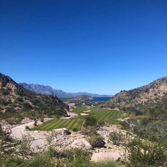 A dramatic downhill par-5 reachable in two shots by long hitters, No. 5 reverses direction and offers stirring views of the bay. An arroyo runs the entire length of the left side of the fairway on this subtle right-to-left dogleg hole. Swipe for a birds-eye-view 👉👉👉 . . . . . . #golf #golfcourse #golfer #golftravel #golfswing #golftips #golfcourses #golftrip #golfvacation #golflife #instagolf #golfislife #golfisfun #buddiestrip #golftravel #livingthegreen #playmoregolf #whyilovethisgame #golfholeswithviews #beautifulgolfcourses #golferslife #golfersofinstagram #golfers #golflovers #golftrip #titleist #golfdigest #topgolf